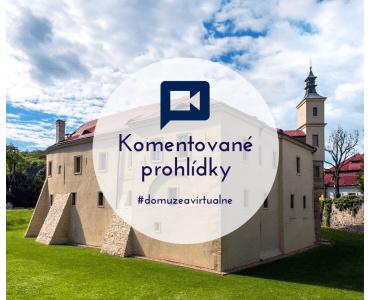 Komentované prohlídky muzea on-line ve Středočeském muzeu v Roztokách u Prahy