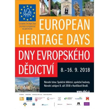 Dny evropského dědictví 2018 ve Středočeském muzeu v Roztokách u Prahy
