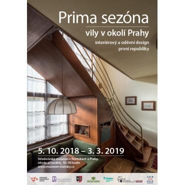 Výstava Prima sezóna ve Středočeském muzeu v Roztokách u Prahy
