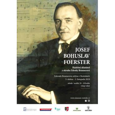 Výstava J. B. Foerster. Hudební skladatel z okruhu Zdenky Braunerové ve Středočeském muzeu v Roztokách u Prahy