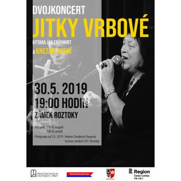 Koncert Jitky Vrbové ve Středočeském muzeu v Roztokách u Prahy