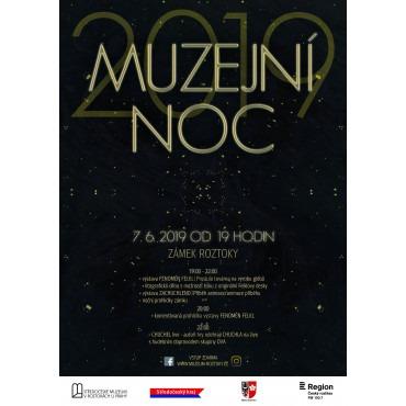 Muzejní noc 2019 ve Středočeském muzeu v Roztokách u Prahy