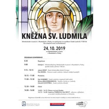 Konference Kněžna sv. Ludmila ve Středočeském muzeu v Roztokách u Prahy