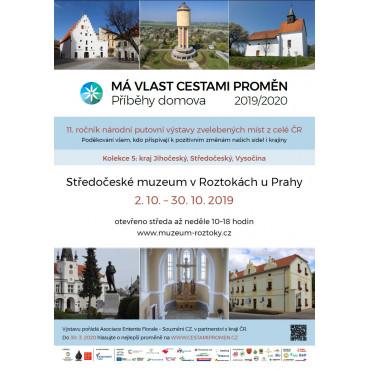 Výstava Má vlast cestami proměn ve Středočeském muzeu v Roztokách u Prahy