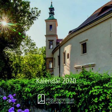 Kalendář s programem Středočeského muzea v Roztokách u Prahy na rok 2020