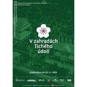 Výstava V zahradách Tichého údolí ve Středočeském muzeu v Roztokách u Prahy