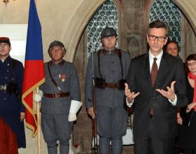 Jeho Excelence pan Jean-Pierre Asvazadourian, velvyslanec Francie v ČR; Foto: SMR – A. Hůlka