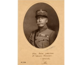 Foto z r. 1920: Maurice César Joseph Pellé (18. 4. 1863 – 16. 3. 1924)