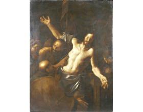 Snímání z kříže, olej na plátně, 2. polovina 17. století, 198 x 150 cm.