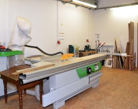 Pracoviště restaurování dřeva