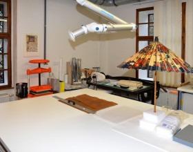 Laboratoř konzervace a restaurování papíru, usní a pergamenu