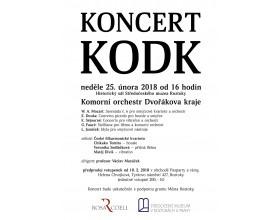 Koncert Komorního orchestru Dvořákova kraje
