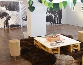Výstava Zdeněk Burian. Originály ilustrací Kniha džunglí a Ostrov pokladů