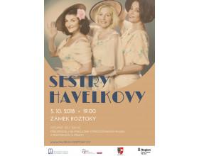 Koncert Sester Havelkových ve Středočeském muzeu v Roztokách u Prahy