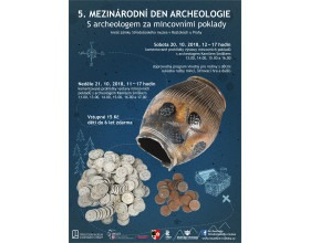 Mezinárodní den archeologie ve Středočeském muzeu v Roztokách u Prahy