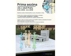 Výtvarná dílna k výstavě Prima sezóna ve Středočeském muzeu v Roztokách u Prahy.