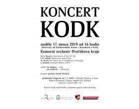 Koncert Komorního orchestru Dvořákova kraje ve Středočeském muzeu v Roztokách u Prahy