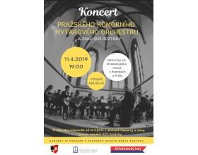 Koncert Pražského komorního kytarového orchestru a žáků ZUŠ Roztoky