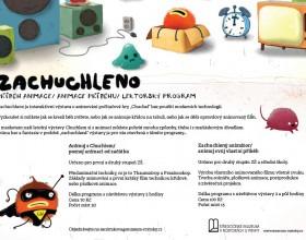 Lektorský program k výstavě ZACHUCHLENO. Příběh animace / animace příběhu ve Středočeském muzeu v Roztokách u Prahy