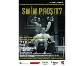 Divadelní představení Smím prosit? ve Středočeském muzeu v Roztokách u Prahy