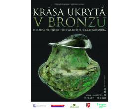 Výstava Krása ukrytá v bronzu ve Středočeském muzeu v Roztokách u Prahy