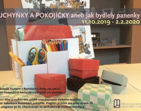 Lektorský program k výstavě Kuchyňky a pokojíčky aneb jak bydlely panenky