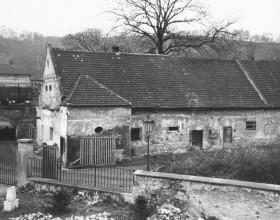 Areál zámku 1962
