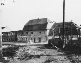 Areál zámku 1963