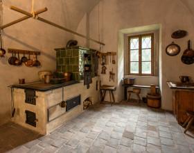 Expozice Vrchnostenská správa panství aneb jak bydlel a úřadoval pan správce - dobová kuchyň