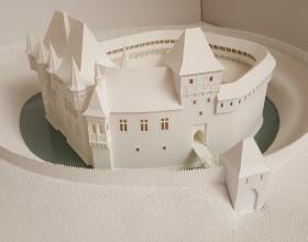 Hmatový model zámku