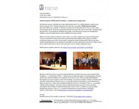 """Ocenění projektu """"Příběh jednoho pokladu"""" v Národní soutěži muzeí Gloria musaealis 2017"""